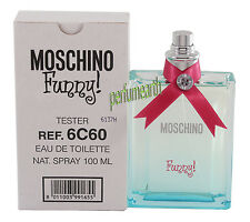 MOSCHINO FUNNY BY MOSCHINO TSTER 3.4/3.3 OZ EDT SPRAY FOR WOMEN NEW TSTER