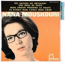 NANA MOUSKOURI - (1 titre Boris Vian) 1965 France EP 45 tours 460.953 ME