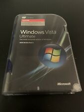MICROSOFT WINDOWS VISTA ULTIMATE UPGRADE GENUINE RETAIL PRODUCT KEY 32 BIT ONLY