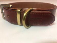 Moonpet Leather Dog Collar