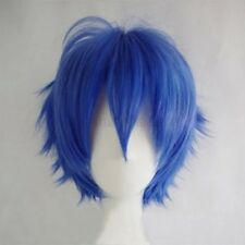 Unisex Short Straight Wig Women Men Party Hair Cosplay Full Wig Cool Costume 8Tw