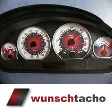 """Tachoscheibe für Tacho BMW E46 Diesel *Rote Nove Carbon""""  310 kmh Top"""