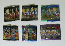 Dragon Ball Z DBZ Panini: All 6 Booster Sets - 18 booster packs