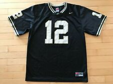 Purdue Boilermakers #12 Football Jersey Youth Sz Xl Nike Black Pu Curtis Painter