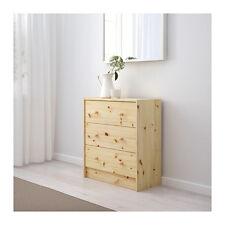 IKEA RAST Commode avec 3 tiroirs Armoire penderie bois massif non traitée