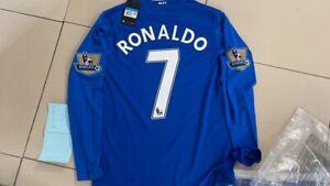MANCHESTER UNITED RONALDO #7 2008-2009 Away RETRO JERSEY Long Sleeve CR7