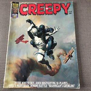 CREEPY #81 : Warren magazine July 1976 : low grade, no back cv., Ken Kelly cover