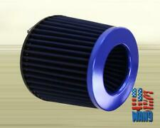 4 inch Blue Inlet Mesh Short Ram Cold Air Intake Round Cone Air Filter KN Types