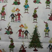 How The Grinch Stole Christmas fabric Doctor Seuss Robert Kaufman sold per yard