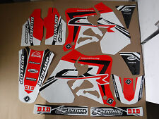 FLU TEAM HONDA PTS3 GRAPHICS 1995  1996  CR125 CR125R  CR250R CR250