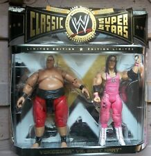 YOKOZUNA VS BRET HART WWE Classic Superstars 2-pack WRESTLING WWF New In Pack
