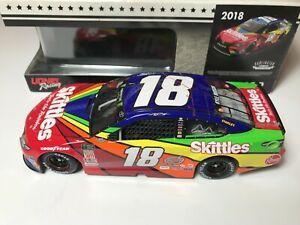 #18 Kyle Busch 1/24 - 2018 Skittles Darlington Throwback - NASCAR Action Lionel