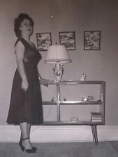 VINTAGE ARTISTIC 1955 MID CENTURY MOD MINIATURE MINIMALIST KITSCH DECOR PHOTO