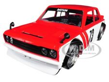 1973 DATSUN 510 WIDEBODY #73 RED JDM TUNERS 1/24 DIECAST MODEL CAR BY JADA 99097