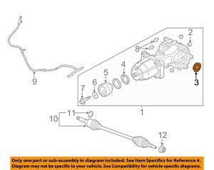 FORD OEM Rear-Axle Seals CV6Z4B416A