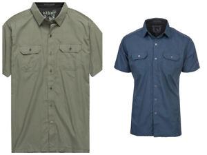 NWT Kuhl Mens Response Short Sleeve Shirt UPF 30 Medium Large X-Large XX-Large