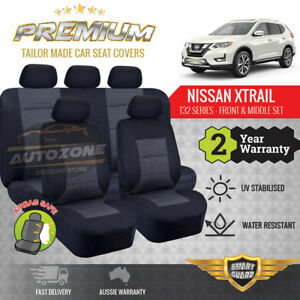 Premium Seat Covers for Nissan X-Trail Xtrail T32 Series 5 Seater 03/2014 - ON