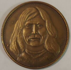 Rare Victorio Apache medal 1979 Osborne Mint American Indian Leaders Collection