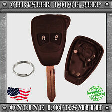 New Remote Key Replacement Case Shell 2 Button Chrysler Dodge Jeep OHT692427AA