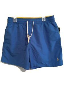 Polo Ralph Lauren Swim Trunks Sz XL Blue NWT