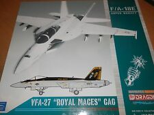 DRAGON WINGS F/A-18E SUPER HORNET VFA-27 ROYAL MACES CAG US NAVY