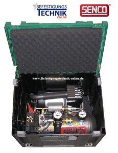 Senco Kompressor PC1010 EU Montagekompressor PC1010 im Systainer IV 4 Set