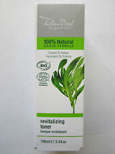 60x100ml Bulk Spa Beauty Salon Job Lot Lelan Vital Organic Revitalizing Toner