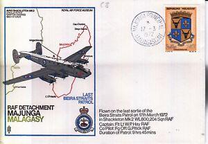 C8a RAF Detachment Majunga Malagasy Avro Shackleton Madagascar cover