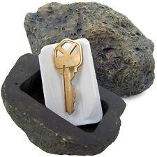Fake Outdoor Rock Spare Key Hider Secret Stash Compartment Diversion Safe