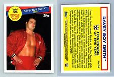 Davey Boy Smith 1985 #3 WWE Heritage 2015  Rookie Of The Year Topps Trading Card