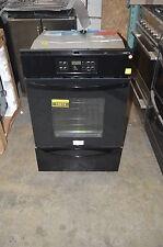 """Frigidaire Ffgw2425Qb 24"""" Black Single Gas Wall Oven Nob #15874"""