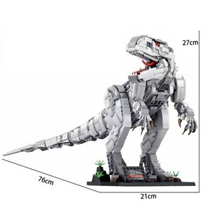 2018pcs Dinosaur Indominus Tyrannosaurus Building Blocks Bricks Mode Dinosaur