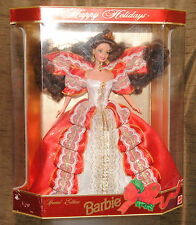 Barbie special edition 1997 happy holidays doll nrfb