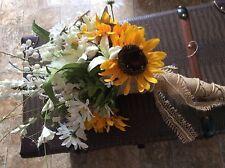 wedding flowers bridal bouquet wedding decorations sunflowers yellow Change col