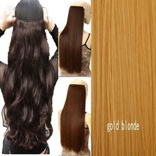 Real Thick One Piece Clip in Full Head Hair Extensions Extension As RemyHair  LK