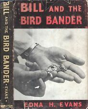 Rare 1940 Florida Bill & The Bird Bander St. Petersburg Dust Jacket 1St Edition