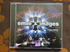 CD EMILE & IMAGES - A L'Olympia / Sony Music UNE U 1040.2  (2000)