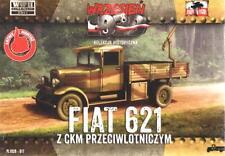 FIAT 621 W / BROWNING AA mg (esercito polacco MKGS, 1939) & opuscolo 1/72 prima a battermi