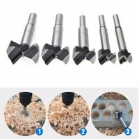16-60mm Wood Hinge Boring Hole Saw Drill Bit Set Cutter Auger Carbide Kit Tool