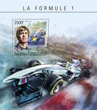 Togo 2014 Formula 1 F1 Car Racing Sebastian Vettel S/S TG14605b
