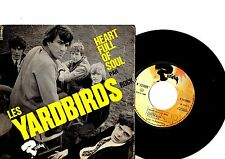 YARDBIRDS EP PS Heart Full Of Soul France Riviera 231 099 M French rare cover!!