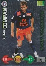 COMPAN FANS FRANCE MONTPELLIER HERAULT.SC CARD CARTE PANINI ADRENALYN FOOT 2010