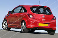 VAUXHALL CORSA D SPOILER - 3 DOOR MODEL
