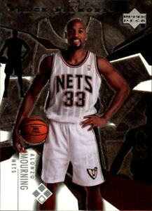 2003-04 Black Diamond New Jersey Nets Basketball Card #128 Alonzo Mourning