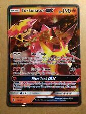 Turtonator GX 18/145 Guardians Rising - Ultra Rare Near Mint Pokemon Card