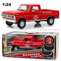 GREENLIGHT 85043 1971 FORD F-100 FIRESTONE PICKUP TRUCK DIECAST MODEL 1:24