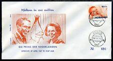 NEDERLAND Geboorte Prins van Oranje 27/04/1967
