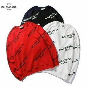 2021 Balenciaga² men's sweatshirt round neck pullover classic hooded sweater top