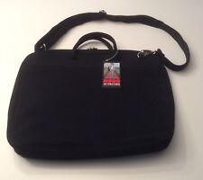 NWT Hobo International Black Nylon Large Portfolio Briefcase
