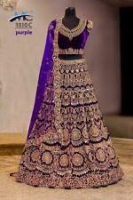Designer Party Wear Indian Wedding Bridal Bollywood New Lehenga Choli Saree Sari